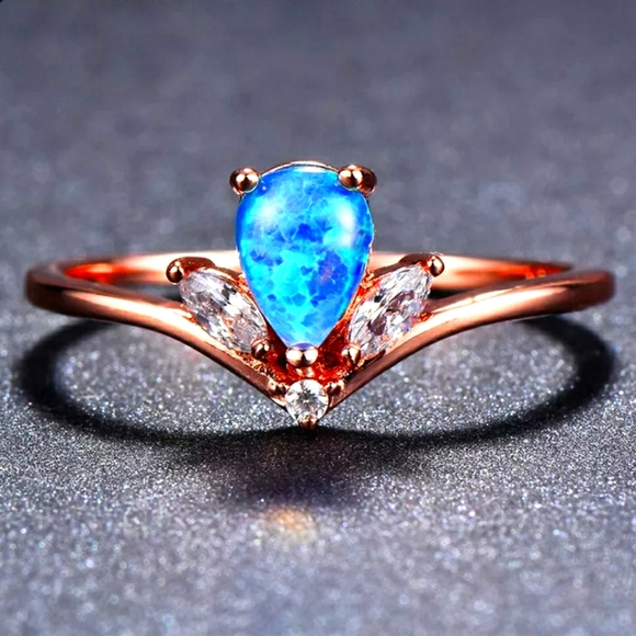 Gorgeous Blue Fire Opal